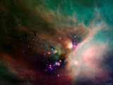Rho Ophiuchi Nebula Photographic Print by Stocktrek Images
