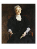 Portrait of an Elderly Woman, 1907 Giclee Print by William Merritt Chase