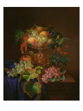 Still Life with Fruit. Forster, 1870 Giclee Print by George Forster