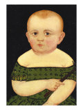Portrait of a Baby, c.1840 Giclee Print by William Matthew Prior