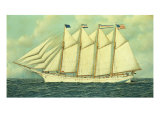 The George W. Truitt, Jr, 1906 Giclee Print by Antonio Jacobsen