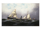 S.S. Niagara, 1877 Giclee Print by Antonio Jacobsen