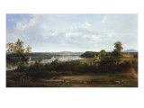 View on the Hudson River Near Tivoli, 1841 Posters by Thomas Doughty