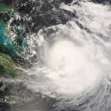 Hurricane Hanna Photographic Print by  Stocktrek Images