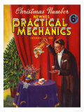 Practical Mechanics, Magician Magazine, UK, 1939 Giclee Print