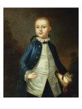 Portrait of Thomas Ritchie, c.1765 Giclee Print by John Wollaston