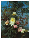 Roses, 1880 Giclee Print by George Cochran Lambdin