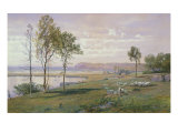 Second Beach, Middletown, Rhode Island, 1876 Giclee Print by William Trost Richards