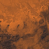 South Chryse Basin Valles Marineris Outflow Channels on Mars Photographic Print by  Stocktrek Images