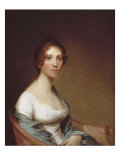 Mrs. Josiah Quincy. Gilbert Stuart, 1809 Print by Gilbert Stuart