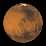 Global Color View of Mars Photographic Print by Stocktrek Images