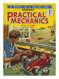 Practical Mechanics, Model Cars Magazine, UK, 1953 Posters