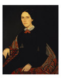 Lucy Anne Barnum Richardson, c.1852 Giclee Print by Ammi Phillips