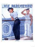 La Vie Parisienne, Nautical Magazine, France, 1937 Prints