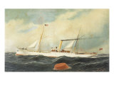 The Franklin, 1896 Giclee Print by Antonio Jacobsen