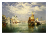 Venice Posters by Thomas Moran