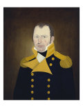 General John Perley, 1825 Giclee Print by John Brewster