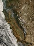 Fires in California Impressão fotográfica por Stocktrek Images