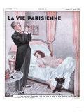 La Vie Parisienne, Erotica Bedrooms Magazine, France, 1938 Prints