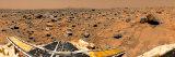 Stocktrek Images - Panoramic View of Mars Fotografická reprodukce