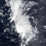 Tropical Storm Dolly Photographic Print by  Stocktrek Images