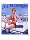 La Vie Parisienne, Glamour Womens Swimwear Fashion Magazine, France, 1936 Giclée-Druck