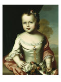 Elizabeth Greenleaf, c.1755-1758 Posters by John Singleton Copley