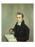Dr. Isaac Everest. Ammi Phillips, 1812 Giclee Print by Ammi Phillips