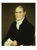 Portrait of Jonathan Lane, 1821 Giclee Print by Ammi Phillips