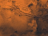 Coprates Region of Mars Photographic Print by  Stocktrek Images