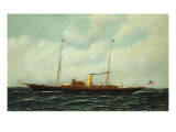 Steamship Riviera, 1906 Giclee Print by Antonio Jacobsen