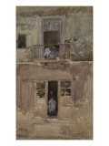 The Balcony, c.1888 Print by James Abbott McNeill Whistler