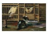 Misunderstanding Giclee Print by John Haberle