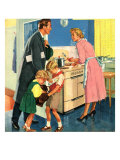 John Bull, Cooking Housewives, UK, 1950 Giclee Print