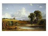 Summer Afternoon on the Hudson, 1852 Posters by Jasper Francis Cropsey
