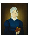 Sarah Treadwell Perley, 1825 Giclee Print by John Brewster