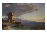 The Isle of Capri, 1893 Reproduction procédé giclée par Jasper Francis Cropsey