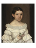 Portrait of a Girl Giclee Print by Horace Bundy