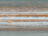 Color Map of Jupiter Photographic Print by Stocktrek Images 