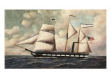 The Barkentine John S. Mckim, 1902 Giclee Print by Antonio Jacobsen