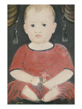 Portrait of Baby Woods, c.1840 Giclee Print by William Matthew Prior