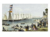 The New York Yacht Club Regatta, 1869 Posters by  Currier & Ives