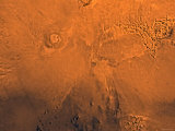 Phoenicis Lacus Region of Mars Photographic Print by  Stocktrek Images