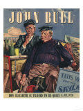 John Bull, Nautical Seaside Holiday Magazine, UK, 1947 Giclee Print
