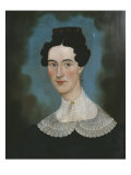 Portrait of Mrs. Ellison 1828 Giclee Print by E. E. Finch