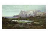 Blue Waters, 1884 Giclee Print by William Trost Richards
