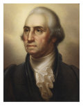 Portrait of George Washington, 1795 Print by Rembrandt Peale