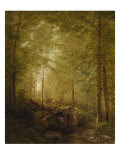 In the Woods, 1872 Giclee Print by William Trost Richards