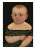 Portrait of a Baby, c.1840 Posters by William Matthew Prior