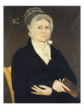 Portrait of a Lady from the Hardenburgh Family, c.1824 Giclee Print by Ammi Phillips